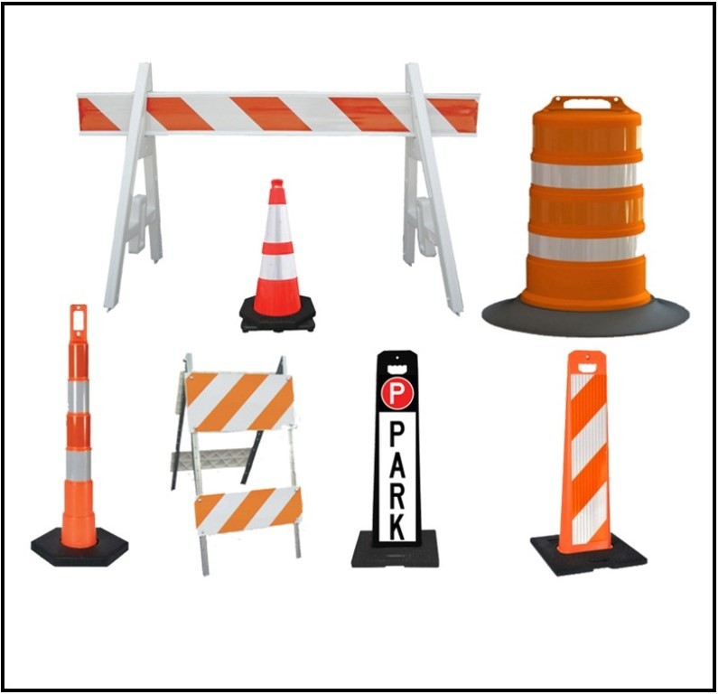 Image logo for Cones - Barricades - Channelizers