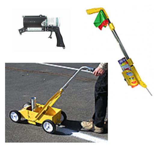 The groundup stores for Parking lot painting equipment