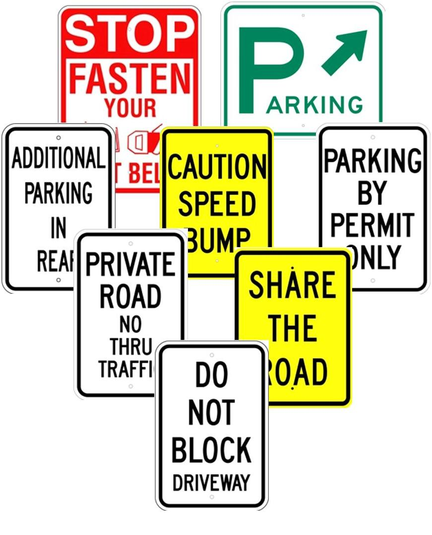 OTHER PARKING LOT SIGNS