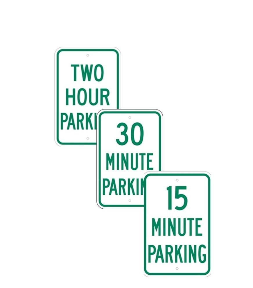 PARKING WITH TIME RESTRICTIONS
