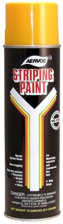 Image logo for STRIPING PAINT - Aervoe Industries - Traffic Paint - 8 CASE BULK ORDER