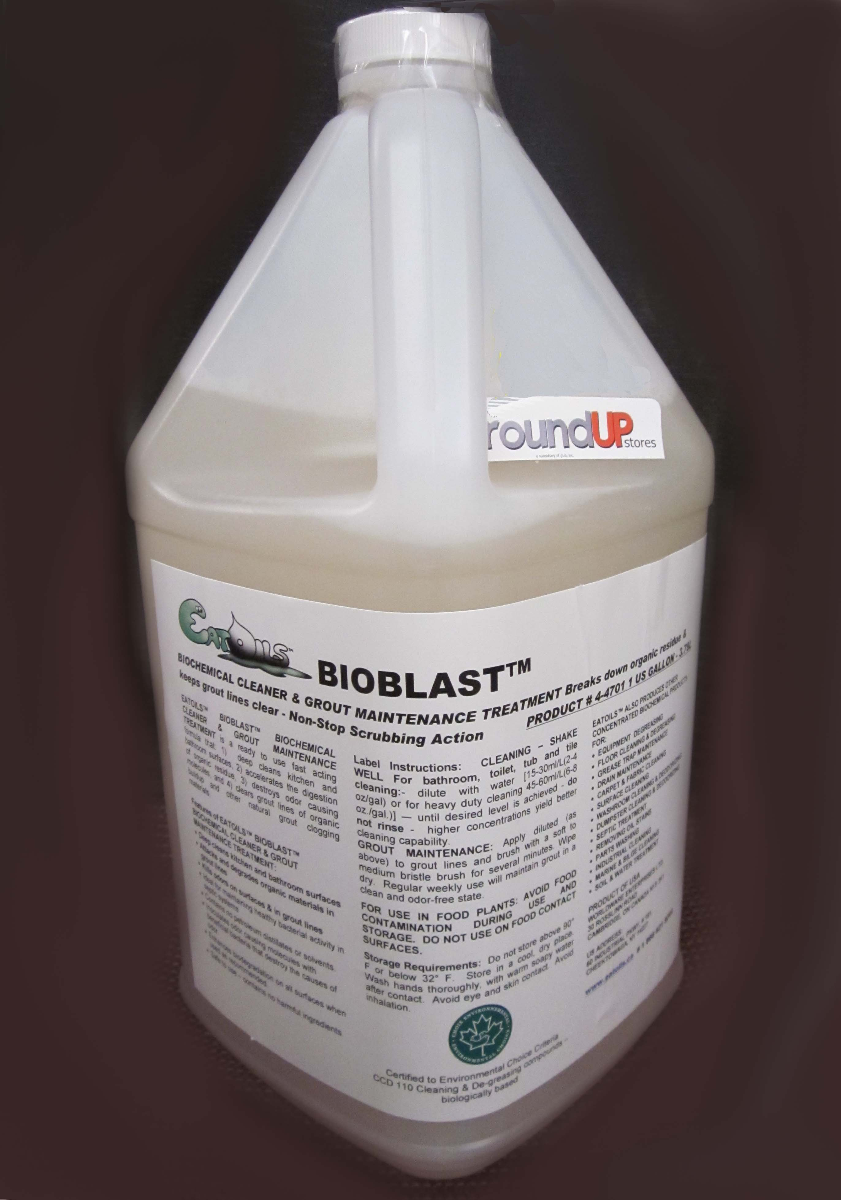 Image logo for BIOBLAST Biochemical Cleaner and Drain Maintenance Treatment - EatOILS BIOBLAST Cleaner