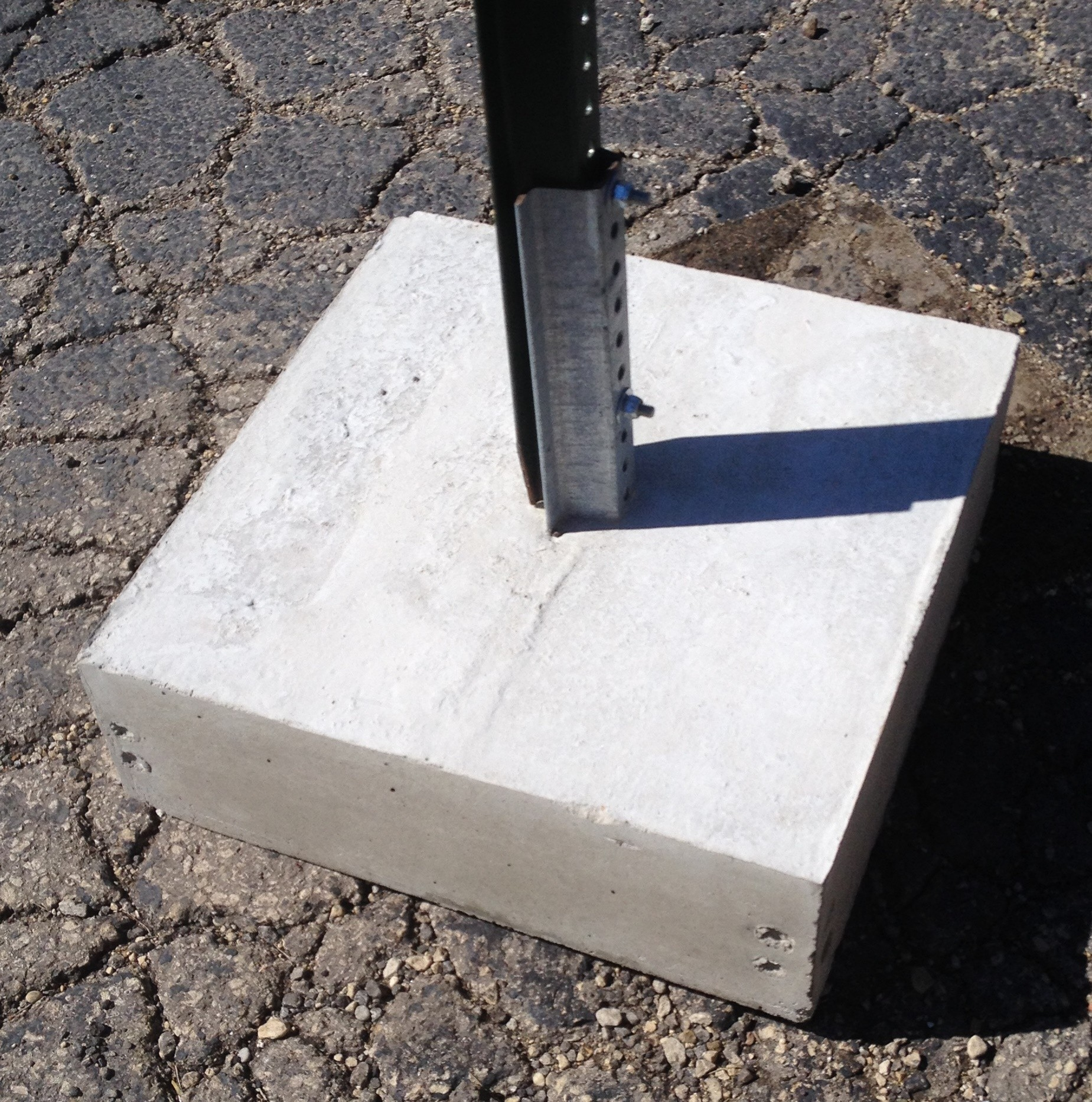 Image logo for CUBBA: 160 lb Concrete Utility Box Base Assembly