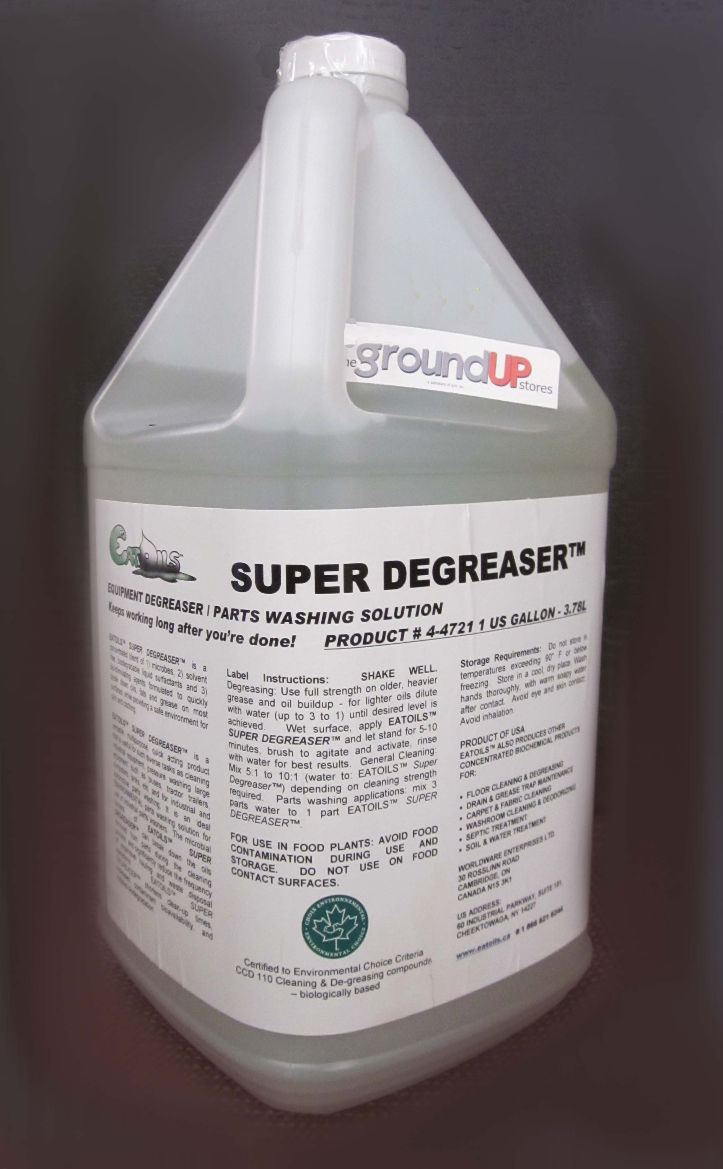Image logo for SUPER DEGREASER - Equipment Degreaser and Parts Washing Solution