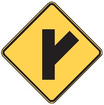 the groundUP stores Y Intersection Sign