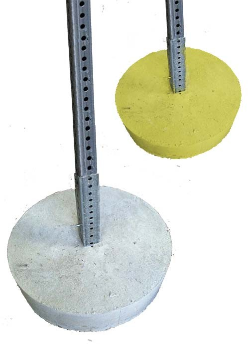 Image logo for BUBA: 216 lb Concrete BIG-UGLY Base Assembly