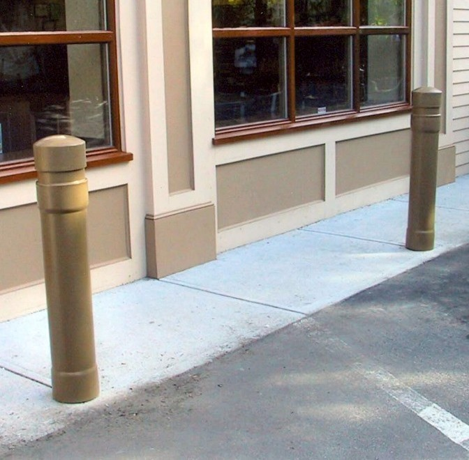Image logo for Bollard Covers | Pipe Sleeves | Ideal Shield Deco Series - Architectural