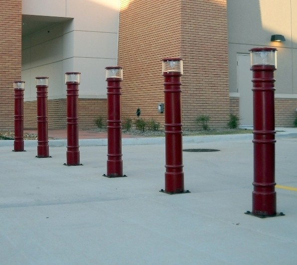 Image logo for Bollard Covers | Pipe Sleeves | Ideal Shield - Metro Lighted Bollard Covers