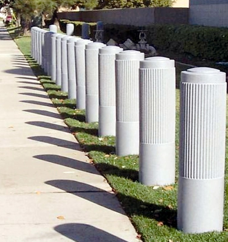 Image logo for Bollard Covers | Pipe Sleeves | Ideal Shield Deco Series - Ribbed