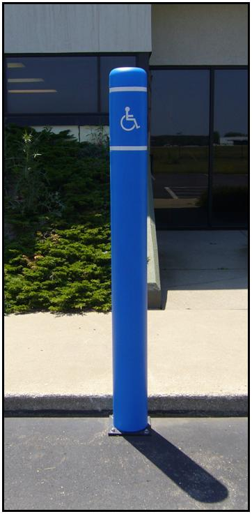 Image logo for Flexpost FlexBollard Systems | Spring Base System with Bollard Cover