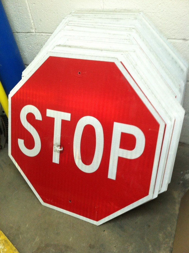 Image logo for Used STOP Signs!