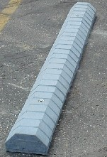 Image logo for Fly-Ash Concrete Parking Block - 6' Long
