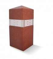 Image logo for Lighted Concrete Square Obelisk Bollard