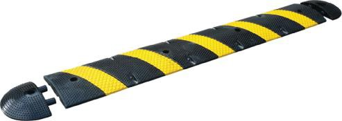 Image logo for Striped Speed BUMP - 7 Foot 4 Inch Long Speed Bump