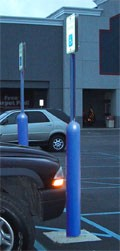 Image logo for Steel Pipe Bollard Sign System