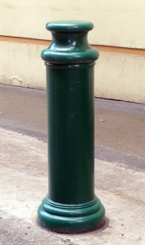 Image logo for Bollard Covers | Pipe Sleeves | Ideal Shield Deco Series - Pawn