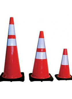 Image logo for High Visibility PVC Traffic Cones